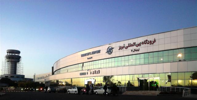 نتیجه تصویری برای فرودگاه تبریز